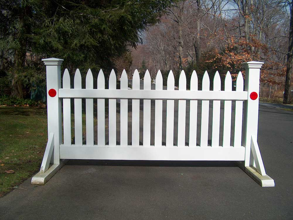 Road Barriers Fence Factory Inc Quality Fencing