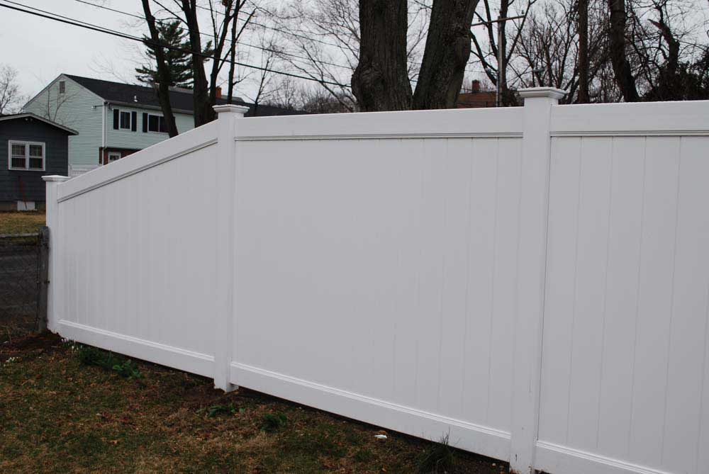 Vinyl Privacy Gallery Fence Factory