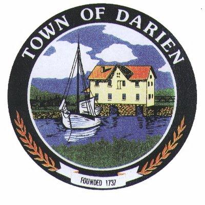 town of Darien Badge